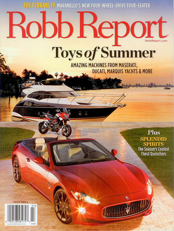 Magazine Cover - Robb Report exotic group