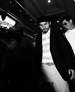 Manny Pacquiao arrives at The Mandalay Bay hotel ahead of the Light Welterweight title fight that will take place at the MGM Grand on May 2nd 2009.