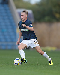 Southend United's Cauley Woodrow in action - Photo mandatory by-line: Nigel Pitts-Drake/JMP - Tel: Mobile: 07966 386802 05/10/2013 - SPORT - FOOTBALL - Kassam Stadium - Oxford - Oxford United v Southend United - Sky Bet League 2