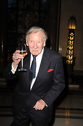 LESLIE PHILLIPS at The inaugural Quintessentially Awards held at the Freemason's Hall, Covent Garden, London on 1st June 2010.