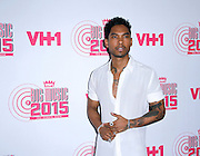 """Singer Miguel attends VH1's """"Big Music in 2015: You Oughta Know"""" concert at The Armory Foundation in New York City, New York on November 12, 2015."""