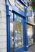 Gold exchange shop in Dun Laoghaire Dublin Ireland
