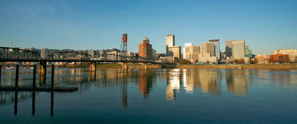 Portland at Sunrise