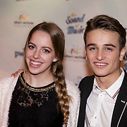 NLD/Den Bosch/20141123- Premiere Musical The Sound of Music, Ralph Mackenbach en partner Kirsten de Vos