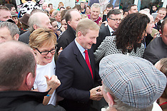 Kenny Fine Gael.  Enda Kenny at National Ploughing Championships, at Ratheniska, Co. La