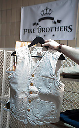 Picture shows Pike Brothers Duck Waistcoat<br /> Bread and Butter Berlin, January 16-19th 2014.<br /> <br /> Credit should read: Picture by Mark Larner