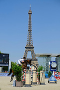 Paris, France : Athina Onassis MHS Going Global during the Longines Paris Eiffel Jumping 2018, on July 5th to 7th, 2018 at the Champ de Mars in Paris, France - Photo Christophe Bricot / ProSportsImages / DPPI