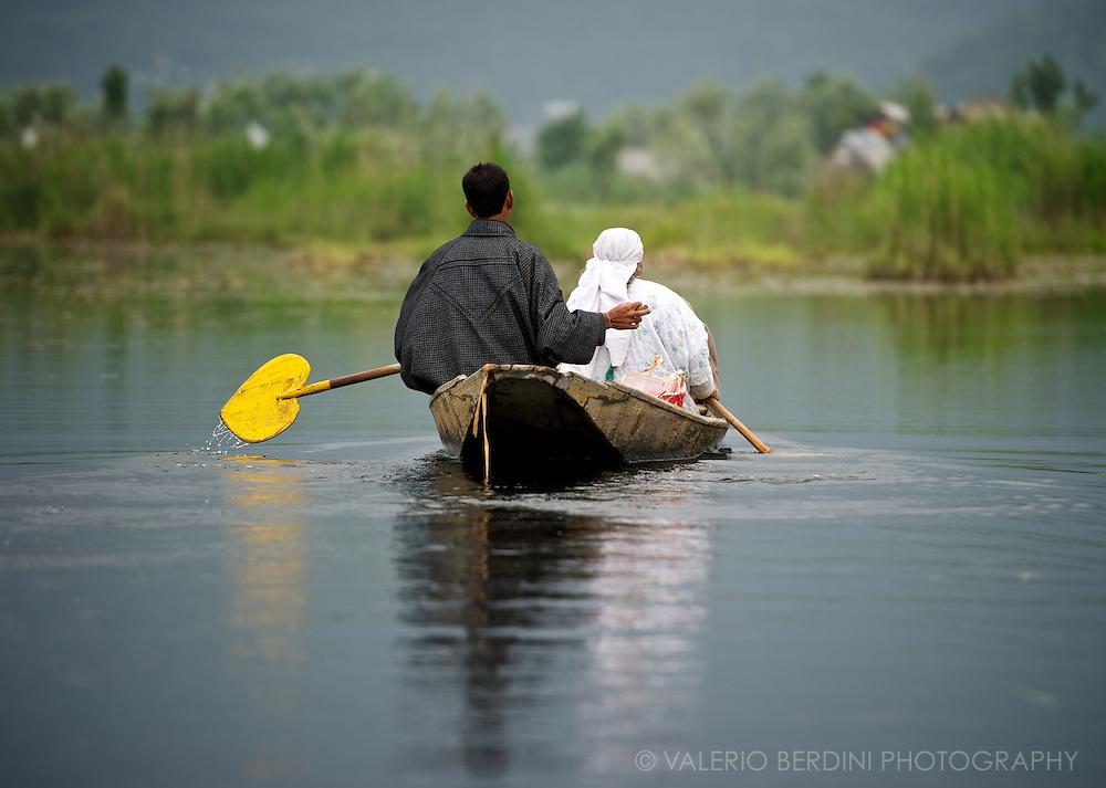 Dal Lake Srinagar<br /> Kashmir<br /> India