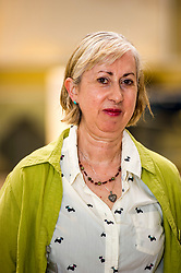 Pictured: Sue Jane Taylor<br /> Today, the National Museum of Scotland showcased the work of visual artist Sue Jane Taylor, whose Age of Oil exhibit presents engineering in an intricate yet accessible way.  <br />  <br /> Ger Harley | EEm 20 July  2017