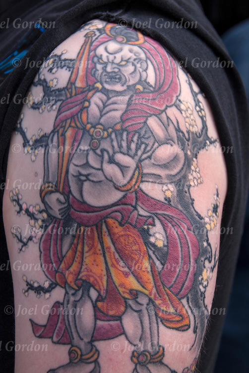 Oriental Asian Mythology Tattoo<br /> <br /> Body art or tattoos has entered the mainstream it is known longer considered a weird kind of subculture.<br /> <br /> &quot;According to a 2006 Pew survey, 40% of Americans between the ages of 26 and 40 have been tattooed&quot;.