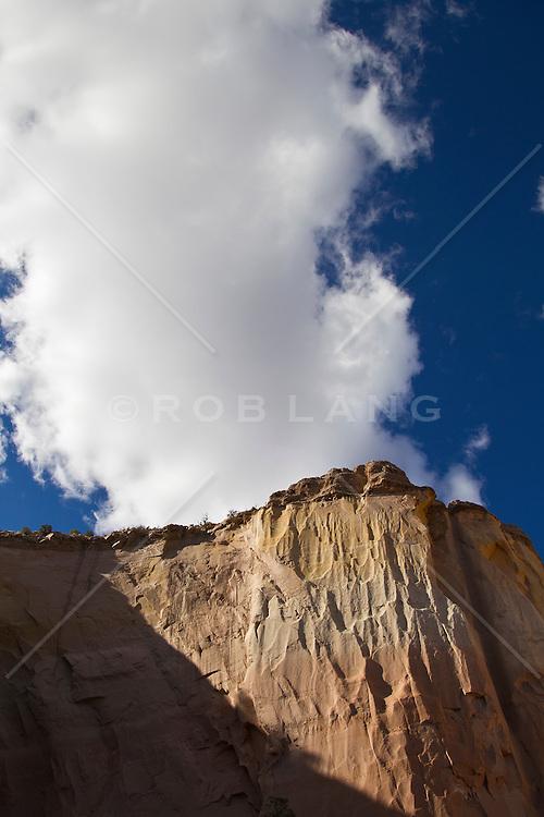 Echo Amphitheater Rock Formation in Abiquiu, NM