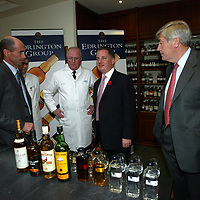 FREE TO USE PIC....<br />First Minister Jack McConnell who officially opened the new £3m bottling line at The Edrington Groups HQ in Glasgow..He is pictured with from left Ian Curle, Chief Exec The Edrington Group, John Ramsay master blender and Ian Good Chairman The Edrington Group.<br />See press release from Edrington Group: Contact Sharon McLaughlin on 07879 694962<br />Copyright Perthshire Picture Agency<br />Tel: 01738 623350  Mobile: 07990 594431