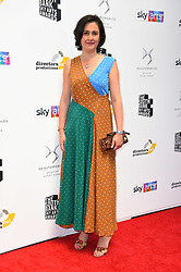 Kamila Shamsie arriving for the South Bank Sky Arts Awards, at the Savoy Hotel, London. Picture date: Sunday 1st July, 2018. Photo credit should read: Matt Crossick/ EMPICS Entertainment.