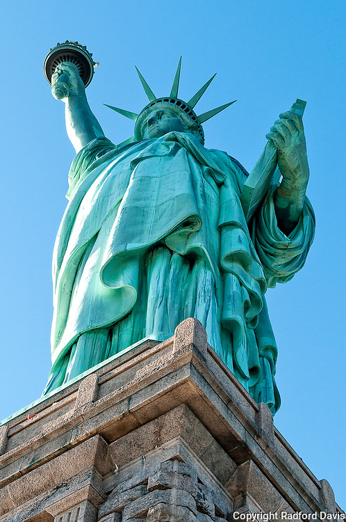 Statue of Liberty, USA.