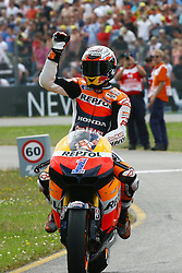 30.06.2012. Circuit Assen, NED, MotoGP, Iveco TT Assen, MotoGP, im Bild Casey Stoner - Repsol Honda team // during the MotoGP of Iveco TT Assen, MotoGP, at the Circuit Assen, Netherlands on 2012/06/30. EXPA Pictures © 2012, PhotoCredit: EXPA/ Insidefoto/ Semedia..***** ATTENTION - for AUT, SLO, CRO, SRB, SUI and SWE only *****