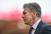 Leicester City Manager, Claude Puel during the Premier League match between Bournemouth and Leicester City at the Vitality Stadium, Bournemouth, England on 15 September 2018.