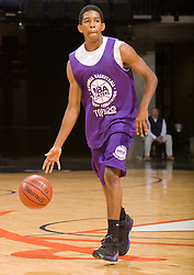 PG Darius Morris (Los Angeles, CA / Windward).  The NBA Player's Association held their annual Top 100 basketball camp at the John Paul Jones Arena on the Grounds of the University of Virginia in Charlottesville, VA on June 20, 2008
