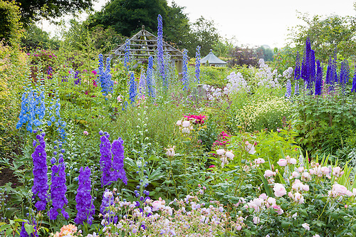 Wollerton Old Hall Garden, Near Market Drayton, Shropshire, Has Been  Designed And Developed.