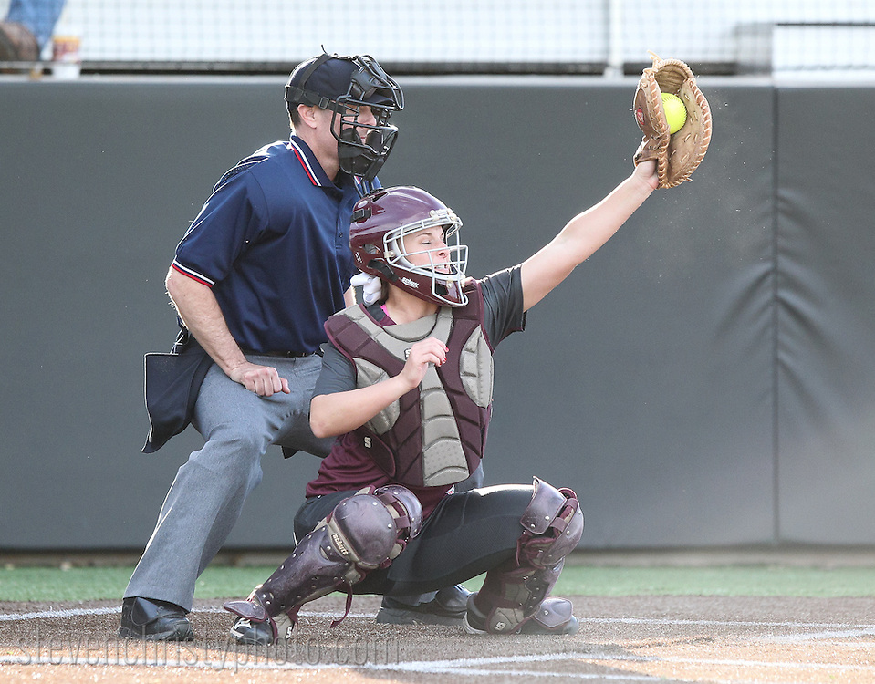 April 25, 2014: The Texas A&M International University Dustdevils play against the Oklahoma Christian University Lady Eagles in the inaugural game at Tom Heath Field at Lawson Plaza on the campus of Oklahoma Christian University.