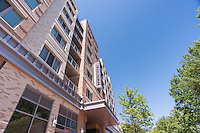 Exterior Image of West Broad Apartments in Falls Church Virginia by Jeffrey Sauers of Commercial Photographics, Architectural Photo Artistry in Washington DC, Virginia to Florida and PA to New England