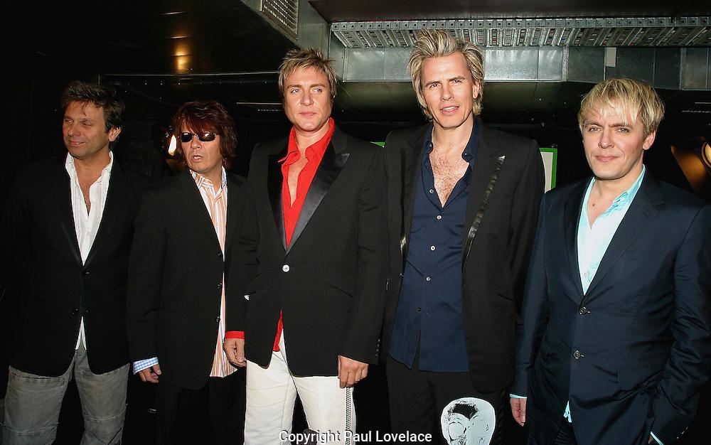 """DURAN DURAN LAUNCH THEIR NEW ALBUM """"ASTRONAUT"""", SYDNEY, AUSTRALIA 23rd AUGUST 2004-duran duran...PICS : PAUL LOVELACE"""
