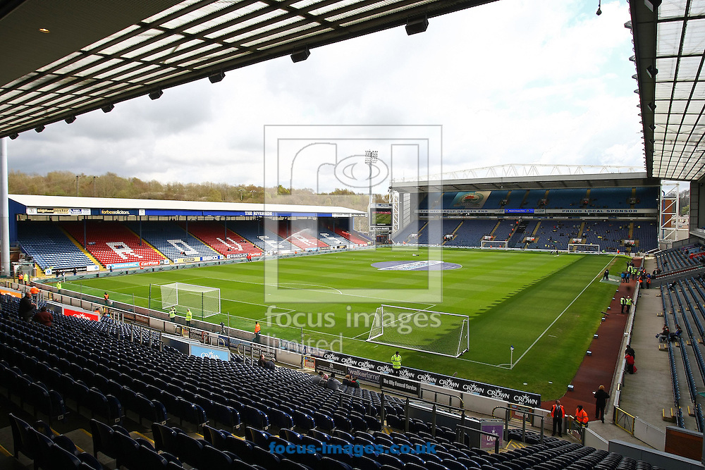 Picture by Paul Chesterton/Focus Images Ltd.  07904 640267.21/04/12.General views of Ewood Park Stadium, Blackburn