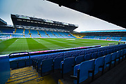 A general interior view of Elland Road during the EFL Sky Bet Championship match between Leeds United and Queens Park Rangers at Elland Road, Leeds, England on 2 November 2019.