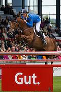 Christian Ahlmann - Barco 6<br /> World Equestrian Festival, CHIO Aachen 2013<br /> © DigiShots