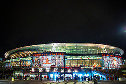 LONDON, ENGLAND - Thursday, December 5, 2019: An exterior view of the Emirates Stadium before the FA Premier League match between Arsenal FC and Brighton & Hove Albion FC. (Pic by Vegard Grott/Propaganda)
