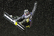 Danny Kass competes in the U.S. Snowboarding Grand Prix finals, Saturday, Jan. 23, 2010, in Park City, Utah. (AP Photo/Colin E Braley).