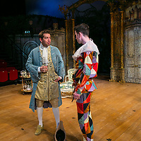 The Rehearsal by Jean Anouilh;<br /> Directed by Jeremy Sams;<br /> Edward Bennett (as Hero);<br /> Joseph Arkley (as Villebosse);<br /> Minerva Theatre, Chichester;<br /> 13 May 2015