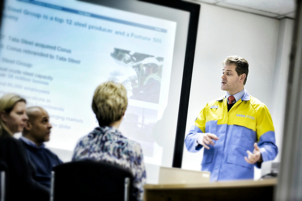 TATA Steel  - Images of the Centre Offices and  Automotive Service Centre