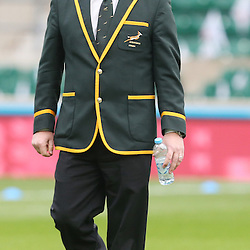 LONDON, ENGLAND - NOVEMBER 15: Heyneke Meyer (Head Coach) of South Africa during the Castle Lager Outgoing Tour match between England and South African at Twickenham on November 15, 2014 in London, England. (Photo by Steve Haag/Gallo Images)