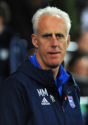 Ipswich Town manager Mick McCarthy look on- Mandatory by-line: Nizaam Jones/JMP - 31/10/2017 -  FOOTBALL - Cardiff City Stadium- Cardiff, Wales -  Cardiff City v Ipswich  Town- Sky Bet Championship