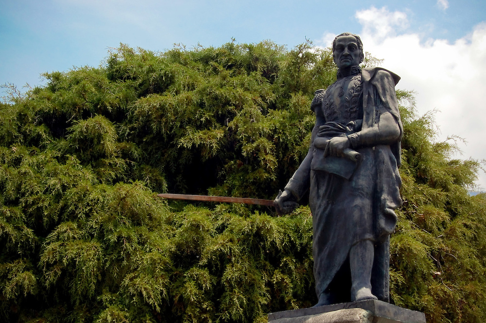 Plaza Bolivar en el Estado Merida - Venezuela.Photography by Aaron Sosa.Venezuela 2007.(Copyright © Aaron Sosa)