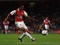 Photo: Tony Oudot.<br /> Arsenal v Sparta Prague. UEFA Champions League Qualifying. 29/08/2007.<br /> Theo Walcott of Arsenal