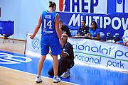 DESCRIZIONE : Gospic Croazia Qualificazioni Europei 2011 Croazia Italia<br /> GIOCATORE : Kathrin Ress Giampiero Ticchi Coach<br /> SQUADRA : Nazionale Italia Donne<br /> EVENTO : Qualificazioni Europei 2011<br /> GARA : Croazia Italia<br /> DATA : 17/08/2010 <br /> CATEGORIA : Ritratto<br /> SPORT : Pallacanestro <br /> AUTORE : Agenzia Ciamillo-Castoria/M.Gregolin<br /> Galleria : Fip Nazionali 2010 <br /> Fotonotizia : Gospic Croazia Qualificazioni Europei 2011 Croazia Italia<br /> Predefinita :