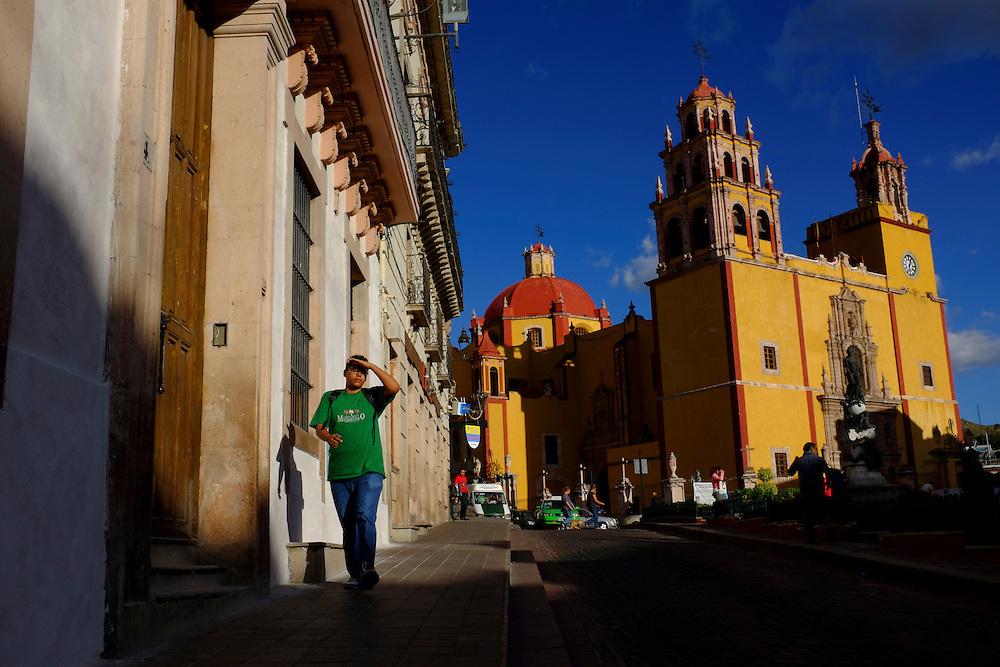 Basilica. City of Guanajuato, Mexico.