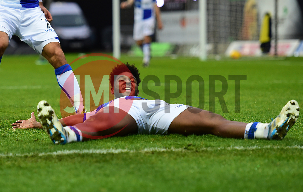Ellis Harrison of Bristol Rovers celebrates with team mates. - Mandatory by-line: Alex James/JMP - 10/02/2018 - FOOTBALL - Kassam Stadium - Oxford, England - Oxford United v Bristol Rovers - Sky Bet League One