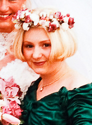© under license to London News Pictures.  05/04/2011. Collect picture of Becky (Rebecca) Godden from Swindon, Wilts, who was identified as the body found in Uffington, Gloucestershire in the Sian O'Callaghan murder investigation.  Becky is pictured here aged 15 at the second wedding of her mother Karen. Taxi driver Christopher Halliwell is currently being held charged with the murder of 22 year-old PA Sian O'Callaghan. Photo credit should read: LNP