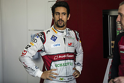 October 17, 2018 - Valencia, Spain - DI GRASSI Lucas (bra), Audi Sport ABT Schaeffler Formula E Team portrait during the Formula E official pre-season test at Circuit Ricardo Tormo in Valencia on October 16, 17, 18 and 19, 2018. (Credit Image: © Xavier Bonilla/NurPhoto via ZUMA Press)