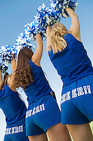 Back View of Cheerleaders