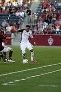 August 4, 2012: Real Salt Lake midfielder Javier Morales (11) in the first half against the Colorado Rapids at Dick's Sporting Goods Park in Denver, Colorado