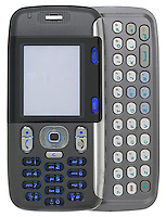 grey cingular slider phone with text pad