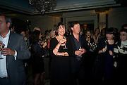 WINNER, CAROLYN MCCALL AND HER HUSBAND PETER FRAWLEY,, Veuve Cliquot Business Woman Award. Berkeley Hotel 8 April 2008.  *** Local Caption *** -DO NOT ARCHIVE-© Copyright Photograph by Dafydd Jones. 248 Clapham Rd. London SW9 0PZ. Tel 0207 820 0771. www.dafjones.com.