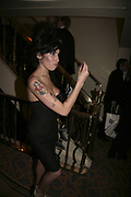 Amy Winehouse, The South Bank Show Awards, Savoy Hotel. London. 23 January 2007.  -DO NOT ARCHIVE-? Copyright Photograph by Dafydd Jones. 248 Clapham Rd. London SW9 0PZ. Tel 0207 820 0771. www.dafjones.com.