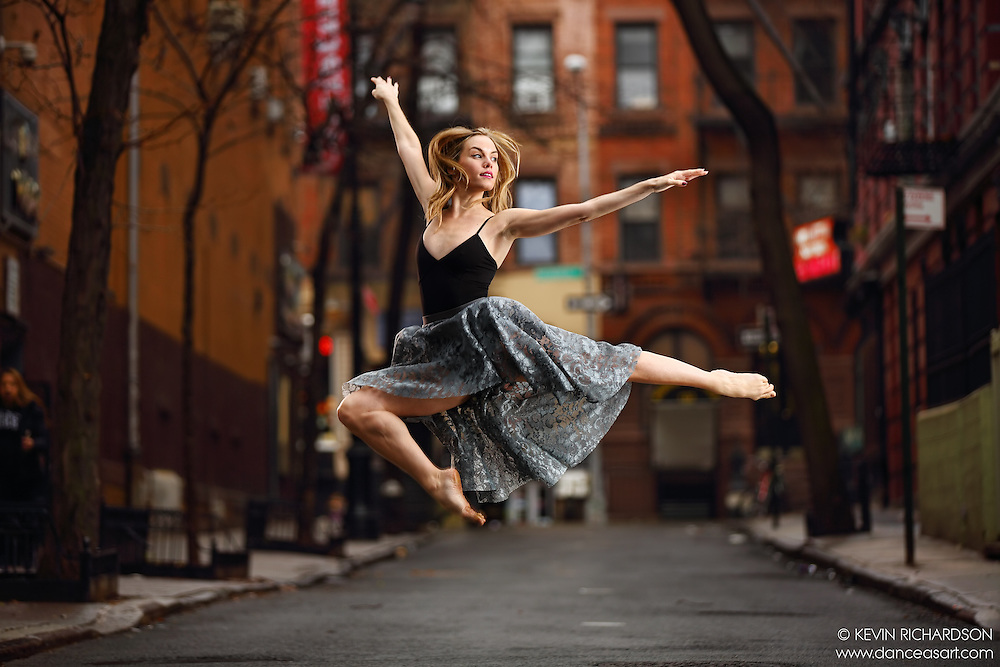 Dance As Art: The New York City Photography Project Streets of the West Village Series with ballerina Erin Dowd.