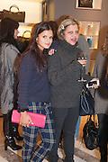 BIP LING; TANYA LINGBIP LING; TANYA LING, Smythson Sloane St. Store opening. London. 6 February 2012.