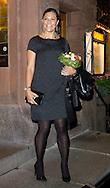 Stockholm, 21-09-2015<br /> <br /> Crown Princess Victoria (Pregnant ) arrived at the charity event and &quot;Grant for the Brain foundation &lsquo;&rsquo; <br /> <br /> Photo: Royalportraits Europe/Bernard Ruebsamen