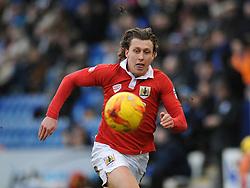 Bristol City's Luke Freeman - Photo mandatory by-line: Dougie Allward/JMP - Mobile: 07966 386802 - 21/02/2015 - SPORT - Football - Colchester - Colchester Community Stadium - Colchester United v Bristol City - Sky Bet League One